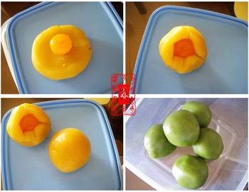 依然是传统的广式莲蓉月饼