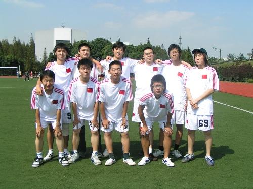 07级新生杯足球赛报道