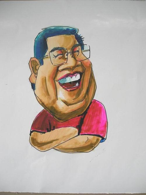 马克笔画漫画 马克笔画的漫画人物 用水性马克笔画的漫画