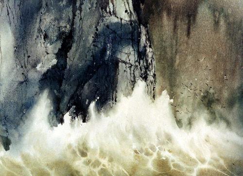江牙山海图手绘