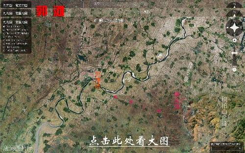 唐河图片之唐河县卫星地图