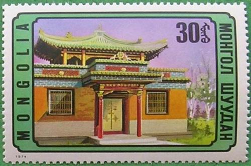 蒙古包风景墙画