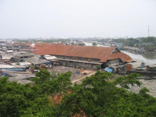 雅加达最早的海港sunda kelapa,数百年前华侨从这里登岸,给爪哇岛带来