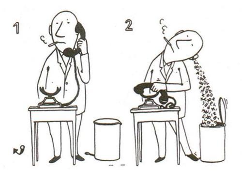 手绘饭碗黑白图片