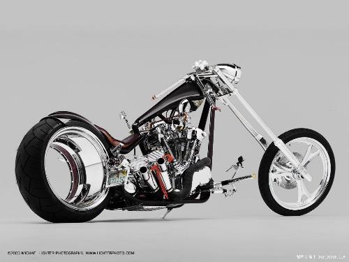 摩托车发动机纹身手稿分享展示