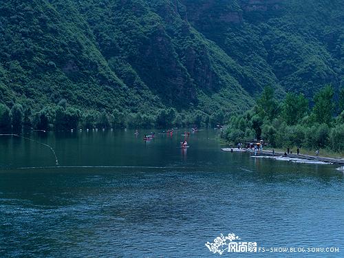 桃林口风景区位于秦皇岛北部山区,秦皇岛唐山交界处,是河北大型水利