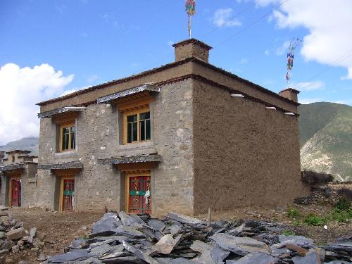 藏式农村房屋设计图