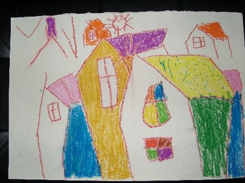 家有儿童学画画