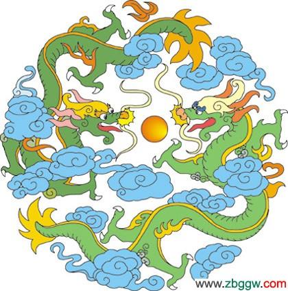 人们舞龙,赛龙舟,在灯谜,对联,图画中,龙成为了不朽的主题.
