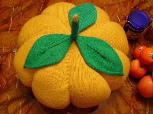 南瓜的编织方法