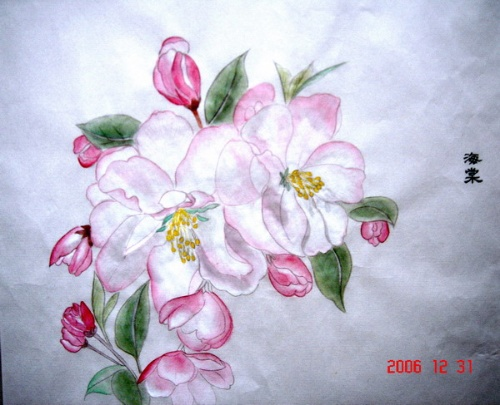 用铅笔画莲花的步骤
