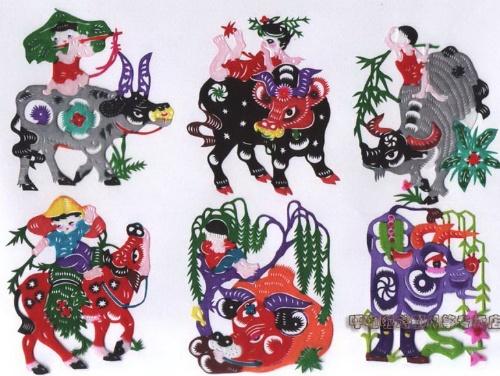 动物异影图形手绘