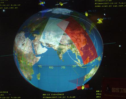 卫星技术的发展,使得世界生活高度信息化
