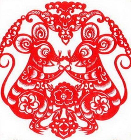【转帖】金鼠招财闹新春----鼠年剪纸欣赏!
