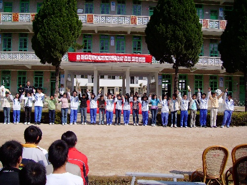 潮州高级中学记者站图片