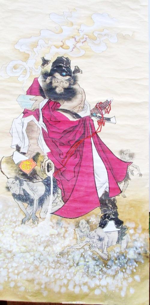钟馗-红玉轩[丁红玉的工笔画平台]-我的搜狐