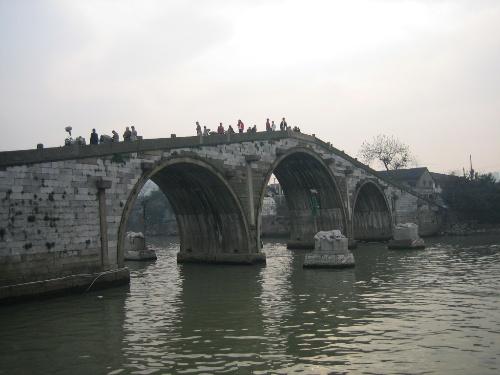 杭州京杭大运河踏春