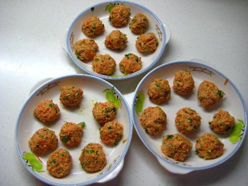 【美味菜品】熘胡萝卜丸子