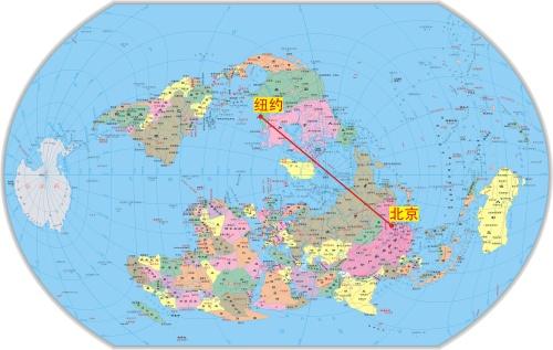 世界地图 中文版