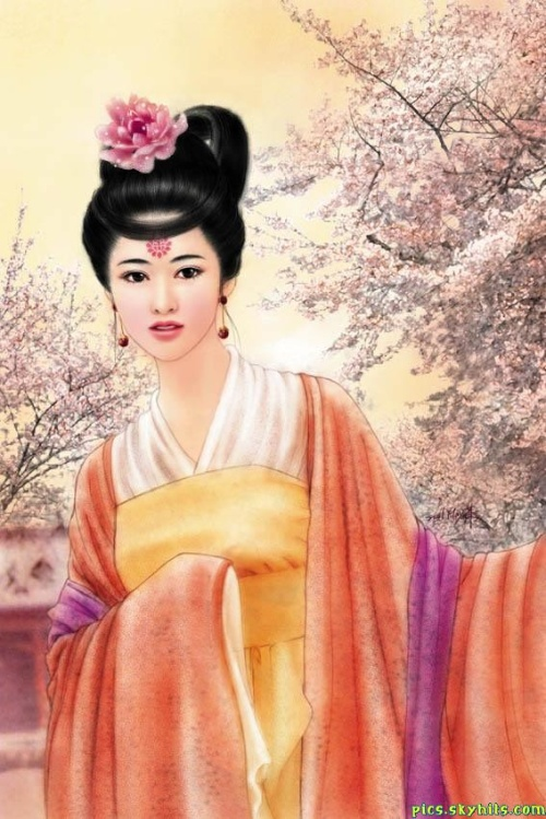 古装美女手绘版-待嫁圈-闻博识女人-搜狐圈
