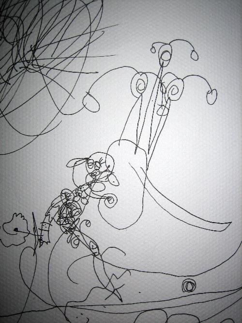 美人鱼简海底简笔画