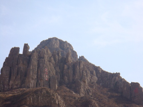 恒山风景画图片