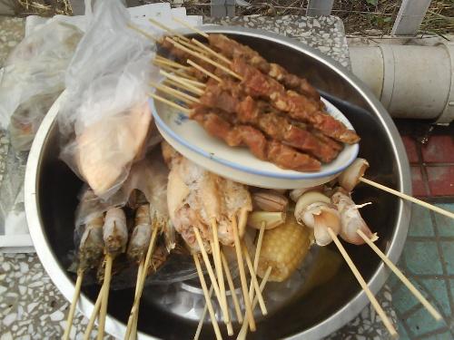 【中式餐点】两个美女的fb大餐~烧烤